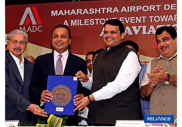 Maharashtra & Reliance Group partner to set up India's first Defence City