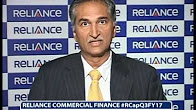 Mr. K.V. Srinivasan's views on #RCapQ3FY17 results of Reliance Commercial Finance